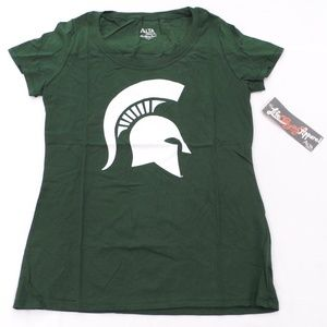 NEW Mich. State Spartans Scoop T-Shirt L